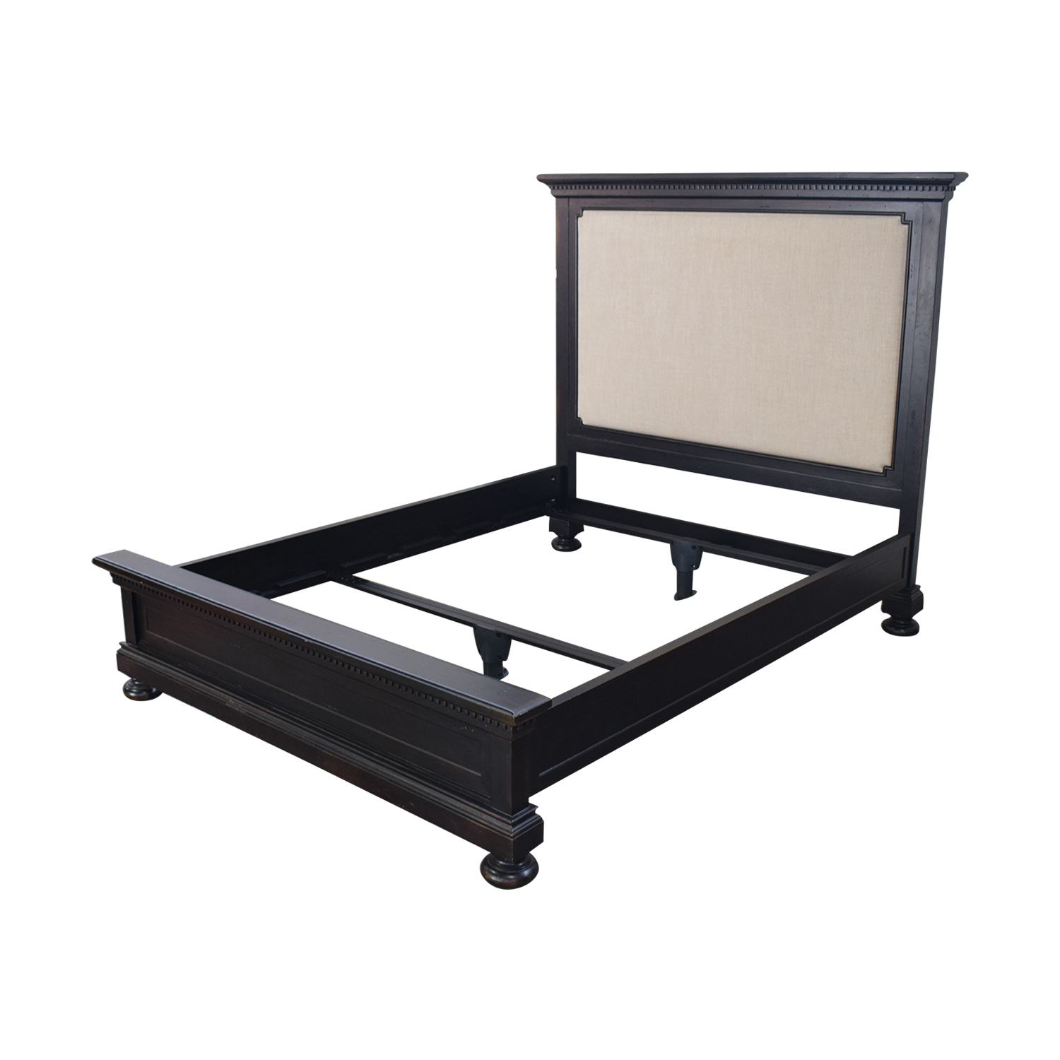 shop Restoration Hardware Restoration Hardware St. James Upholstered Queen Bed Frame online