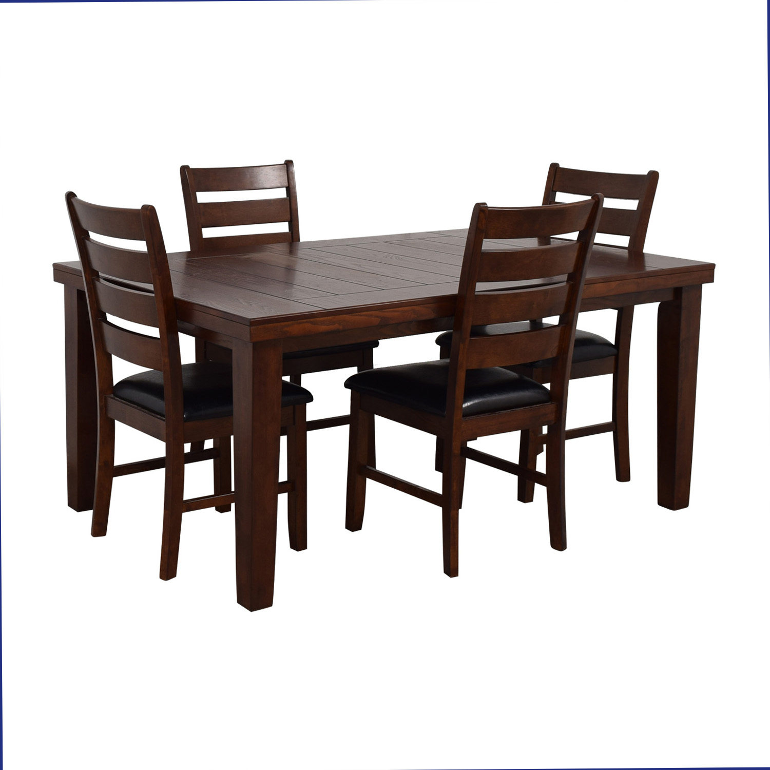Wood Dining Set dimensions
