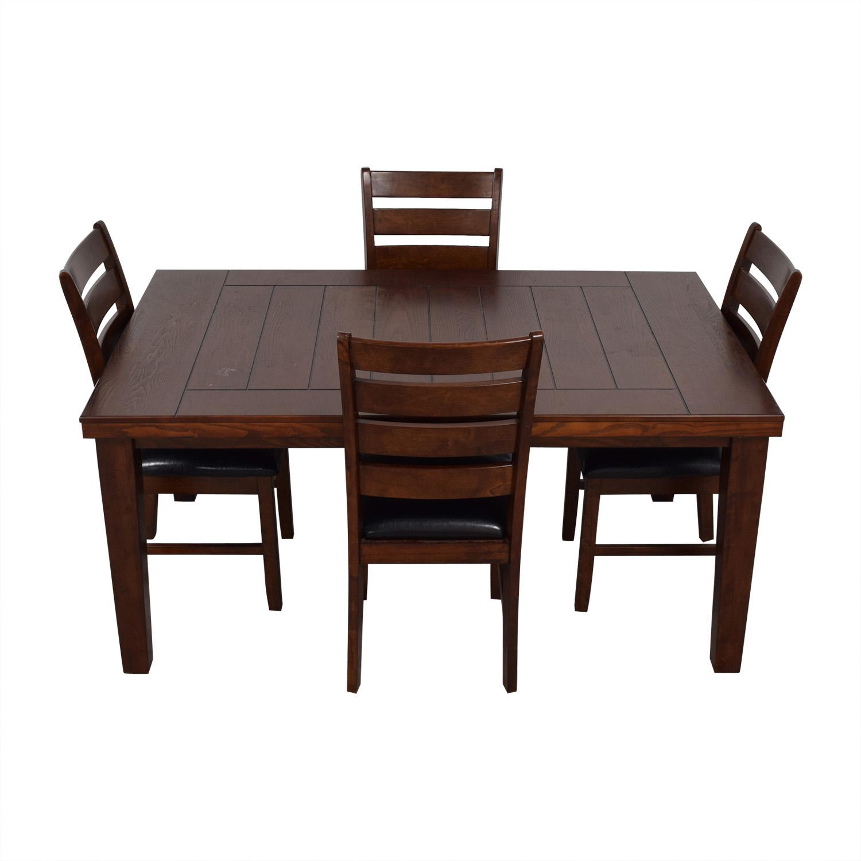 Wood Dining Set nyc