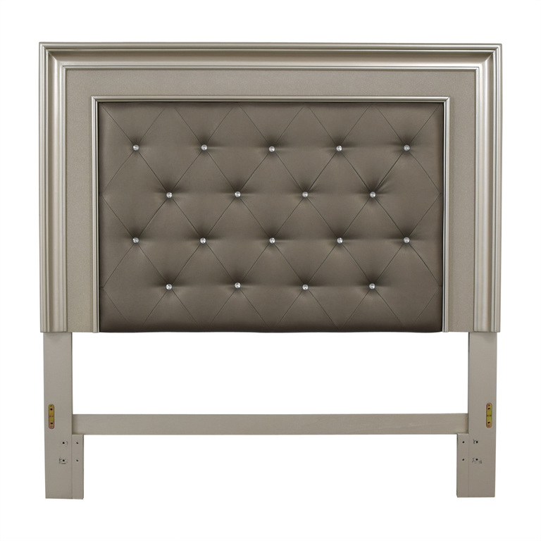 Gray Tufted Queen Headboard price