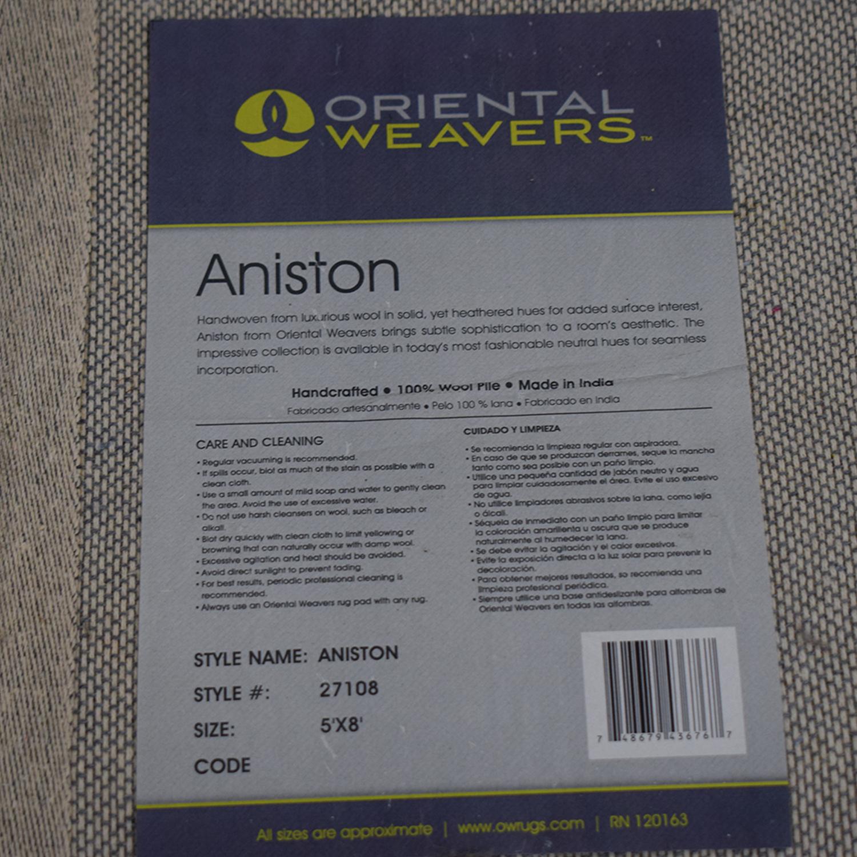 shop Oriental Weavers Aniston Grey Rug Oriental Weavers Rugs