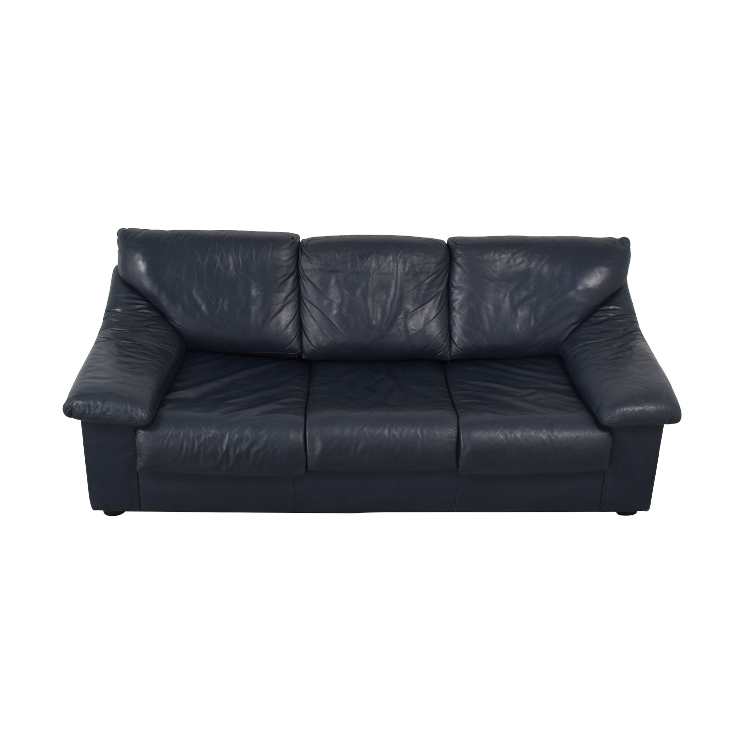 Navy Three-Seat Sofabed