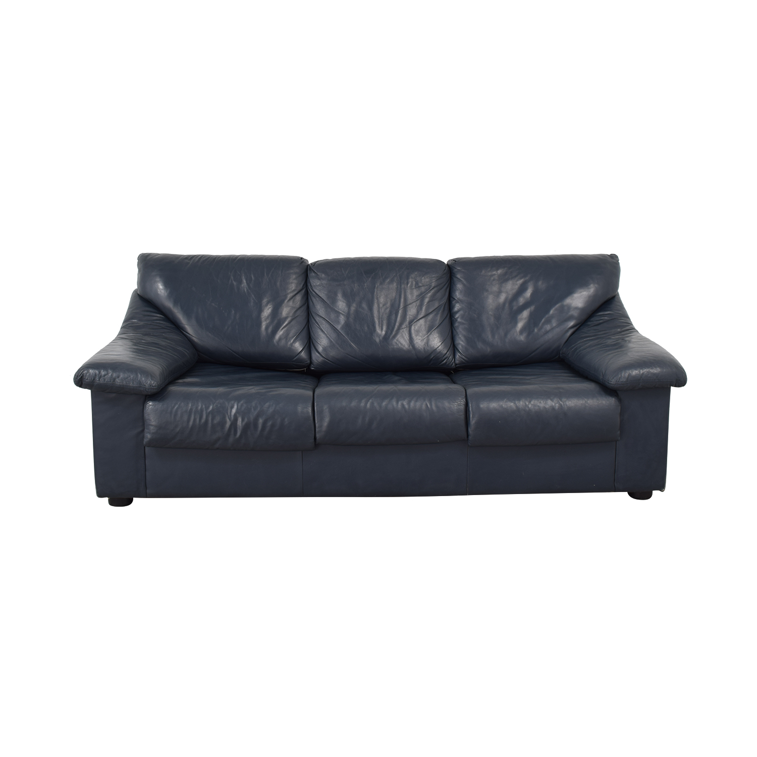 Navy Three-Seat Sofabed for sale