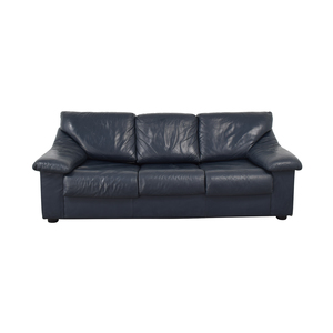 Navy Three-Seat Sofabed second hand