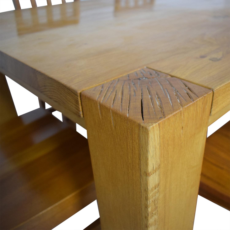 buy Crate & Barrel Crate & Barrel White Oak Dining Set online