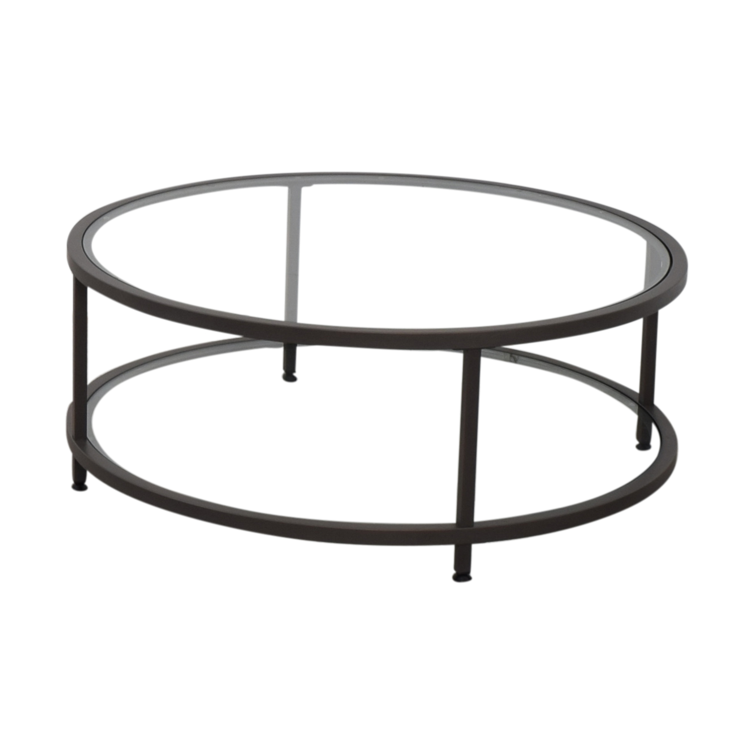 81 Off Wayfair Round Gl Coffee Table Tables