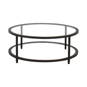 Wayfair Wayfair Round Glass Coffee Table on sale
