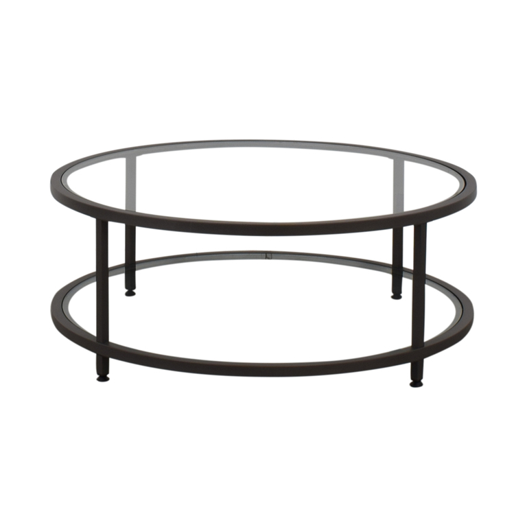 Wayfair Wayfair Round Glass Coffee Table nyc