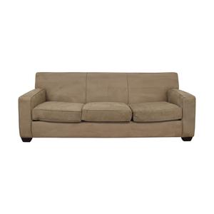 Crate & Barrel Crate & Barrel Tan Sofa discount