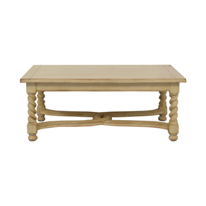 Antique Cream Cocktail Table second hand