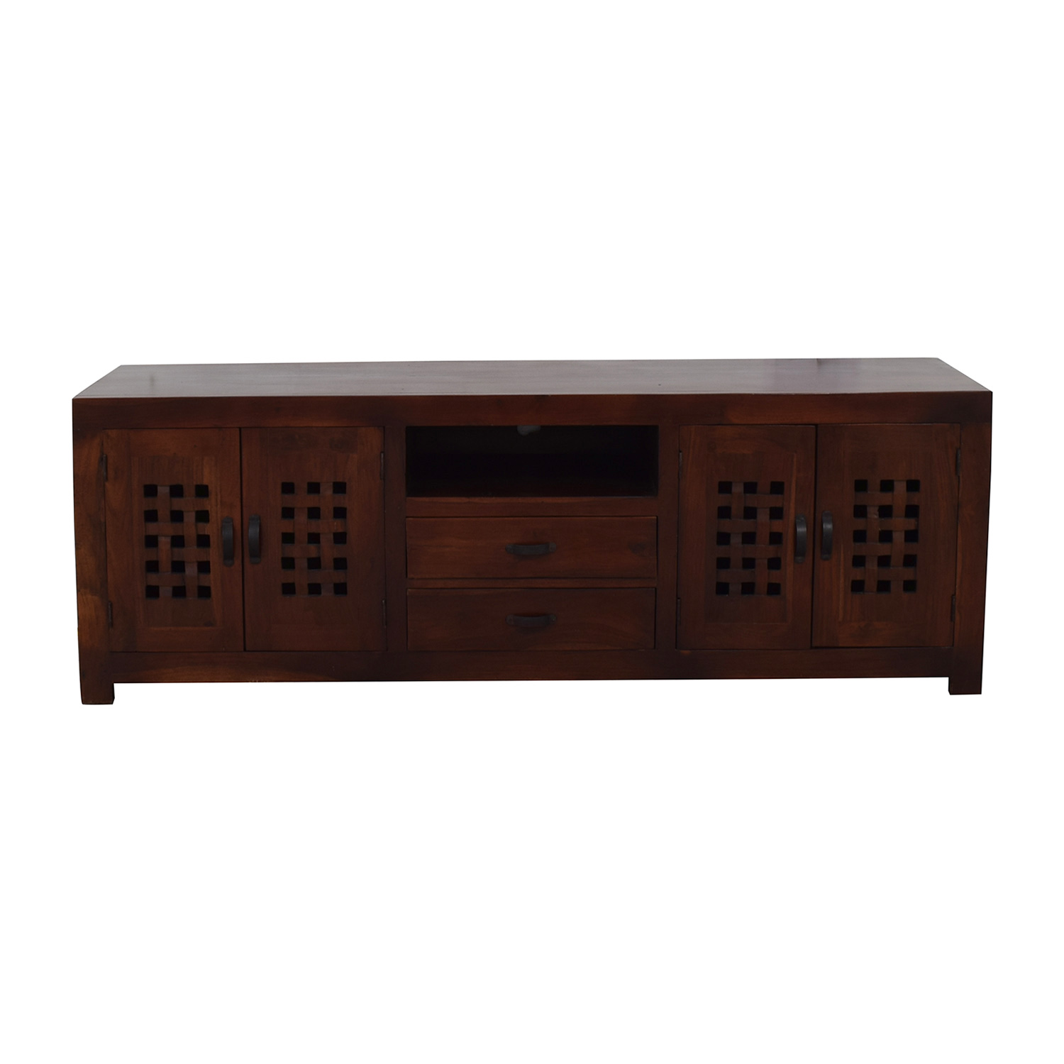 Australian Jarrah Wood Console second hand
