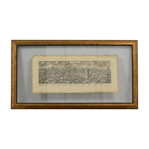 buy John-Richard Pressed Glass Roman Map John-Richard Decor