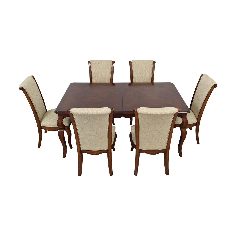 shop Drexel Heritage Extendable Dining Set Drexel Heritage Tables
