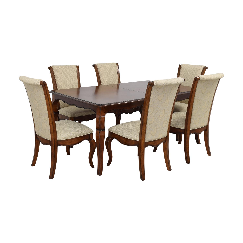 Drexel Heritage Drexel Heritage Extendable Dining Set dimensions