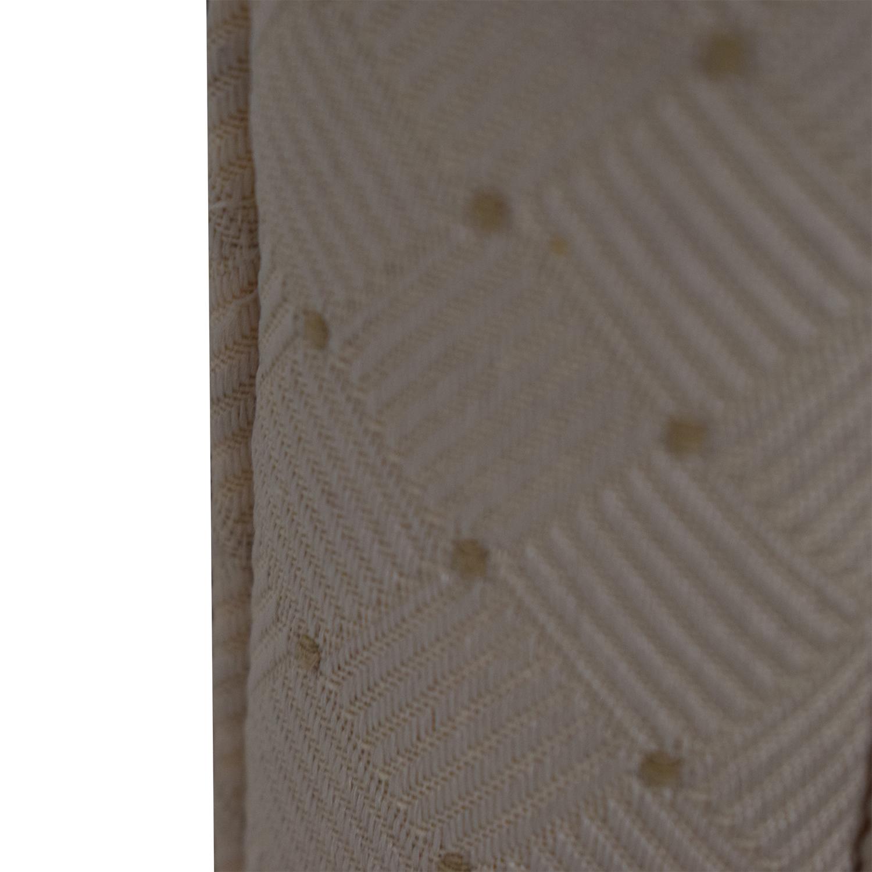 buy Custom Creme Tufted Queen Headboard  Beds