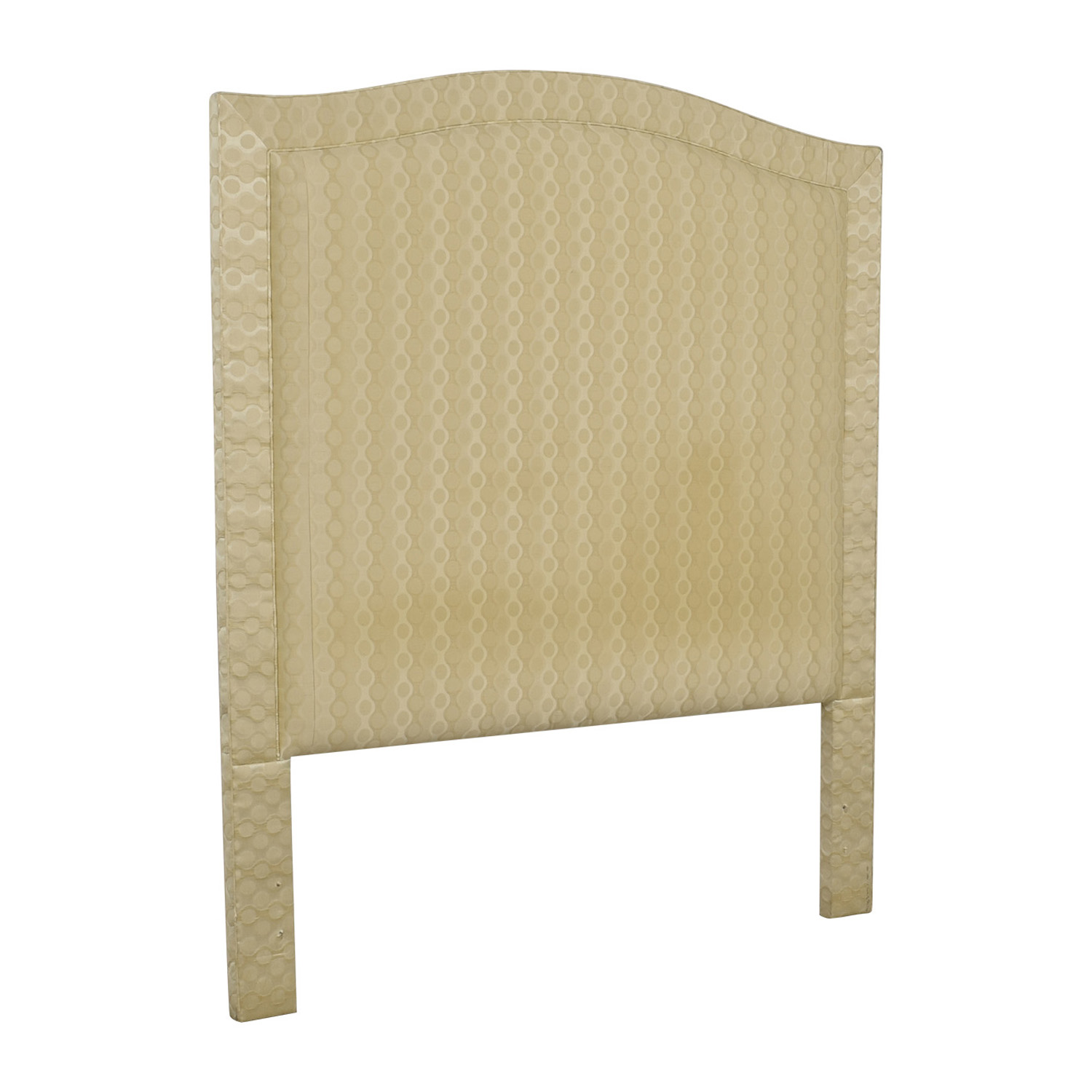 Beige Upholstered Queen Headboard / Headboards