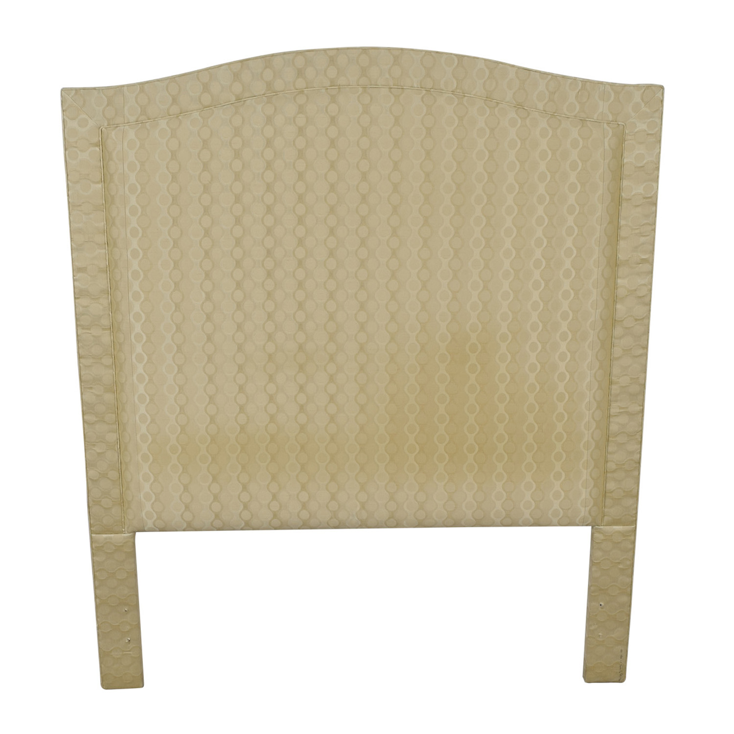 Beige Upholstered Queen Headboard dimensions