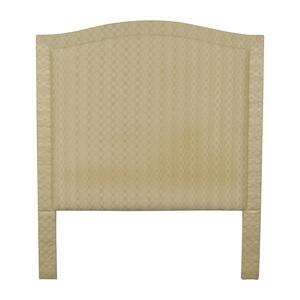 buy  Beige Upholstered Queen Headboard online