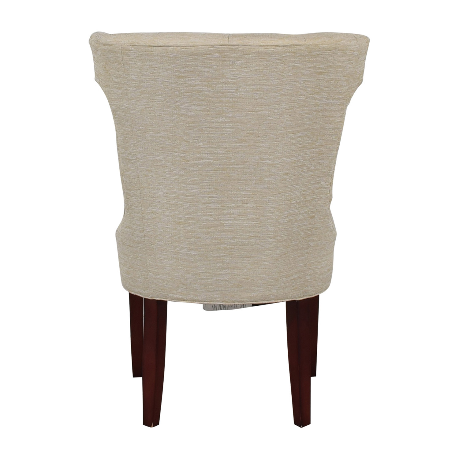 Cream Tufted Accent Chair on sale