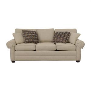 Ethan Allen Ethan Allen Beige Three-Cushion Couch used