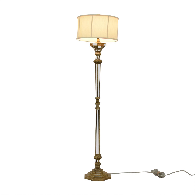 Mirrored Floor Lamp second hand