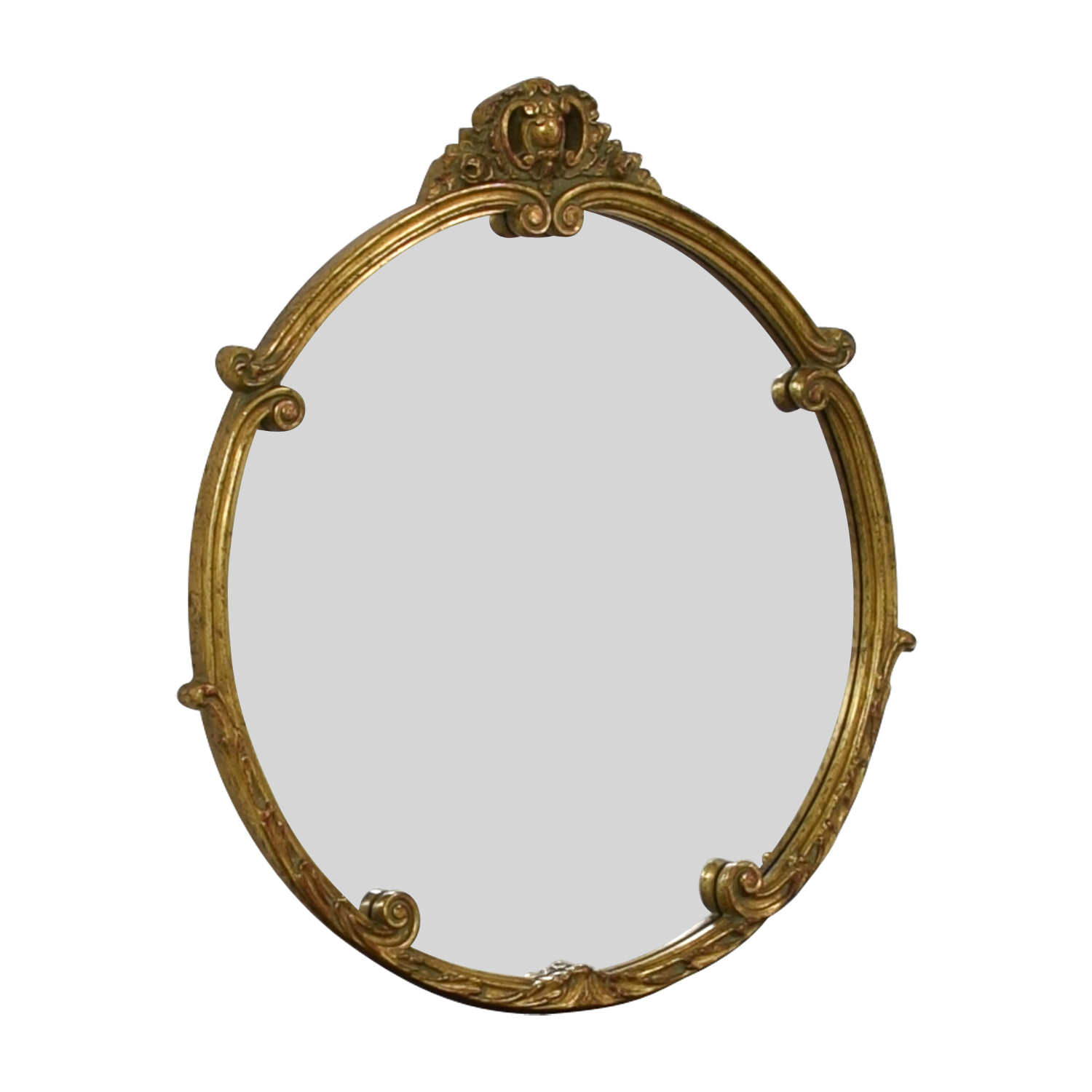 Rustic Gold Mirror sale