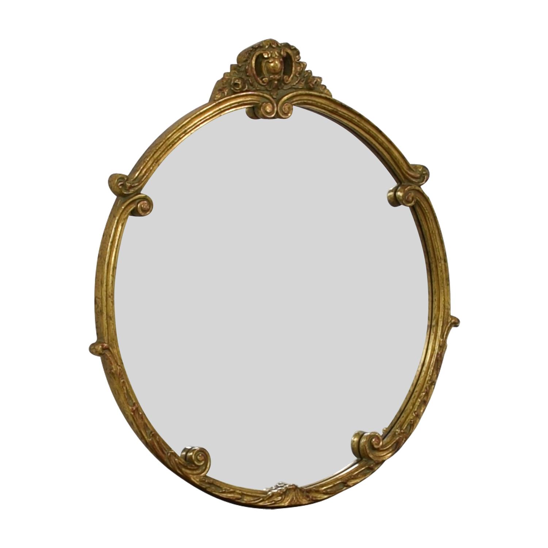 shop Rustic Gold Mirror
