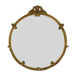 buy Rustic Gold Mirror