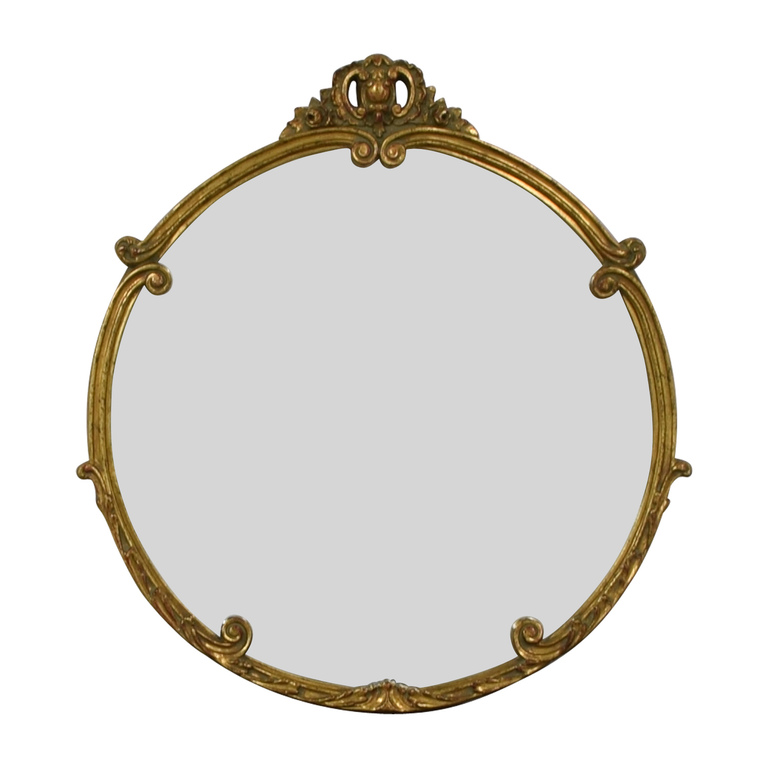 Rustic Gold Mirror second hand