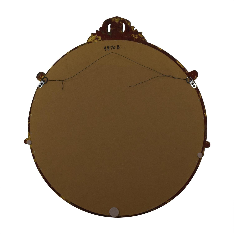 Rustic Gold Mirror discount
