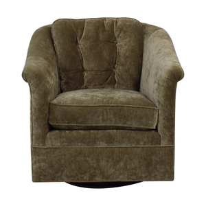 Hickory White Hickory White Grey Swivel Rocker for sale