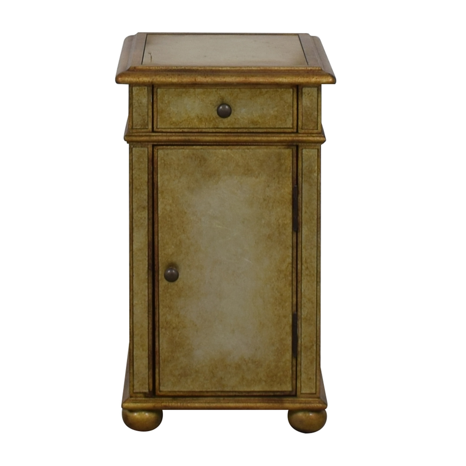 shop Hooker Furniture Hooker Furniture Gold Finished End Table online