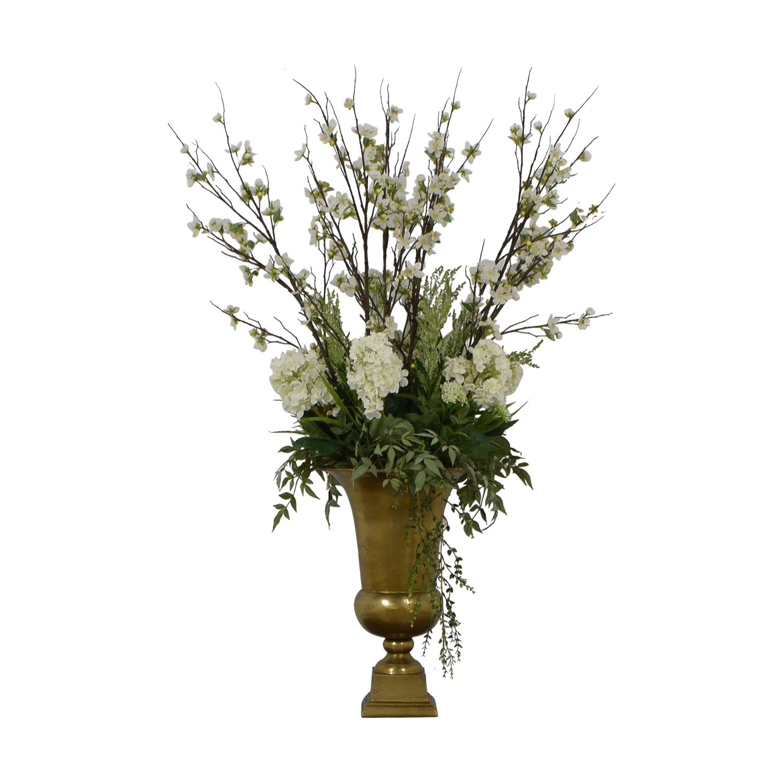 Jonathan-Richard Jonathan-Richard Southern Roots Faux Floral Arrangement Decorative Accents
