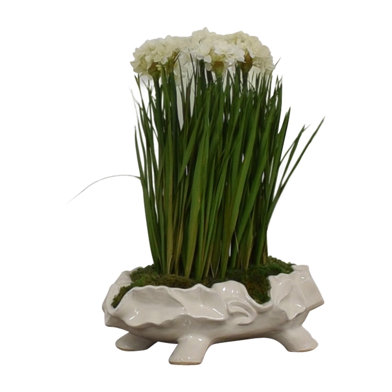 buy John-Richard Paperwhite Garden Faux-Floral Arrangement John-Richard Sofas