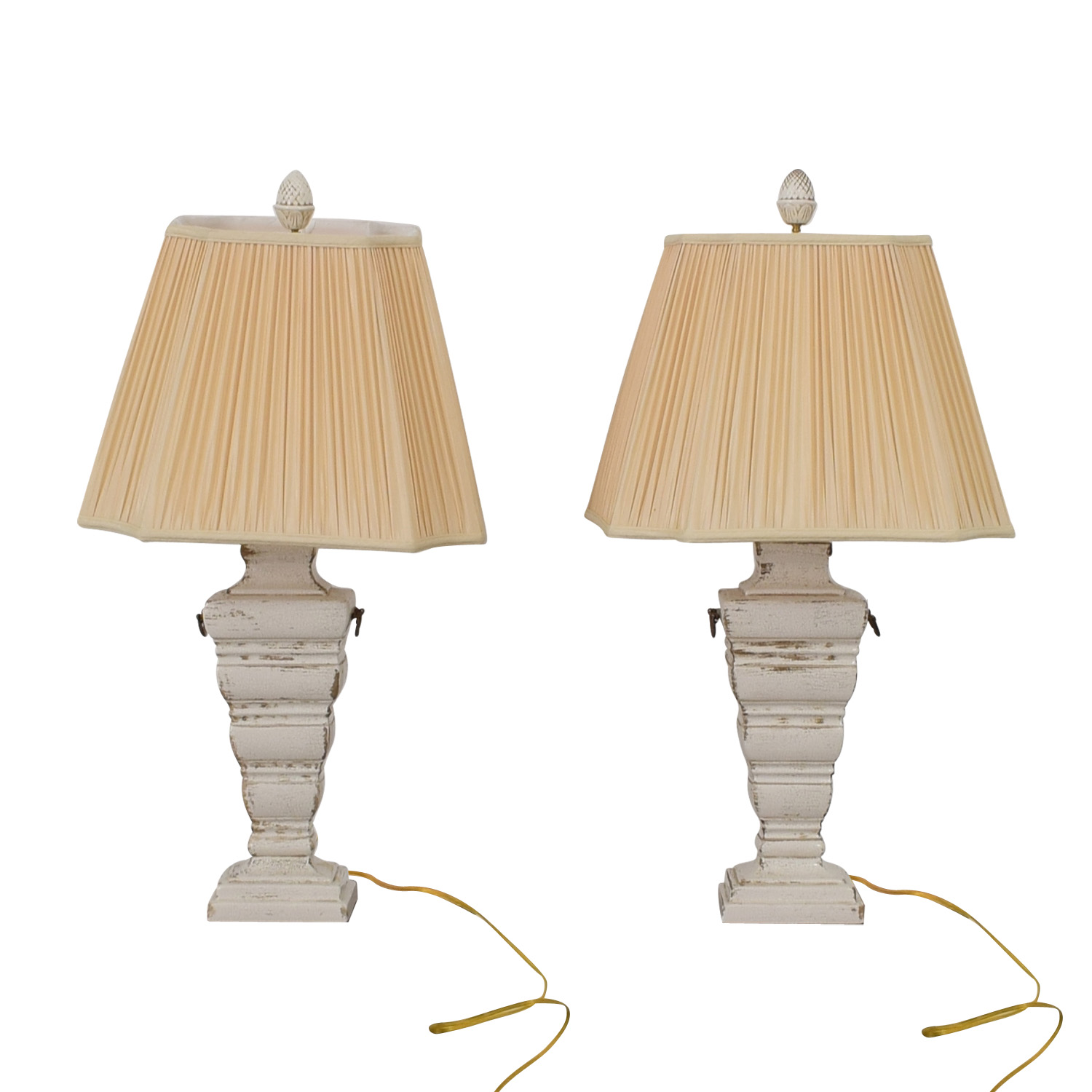 buy The Bradburn Gallery The Bradburn Gallery Cream Table Lamps online