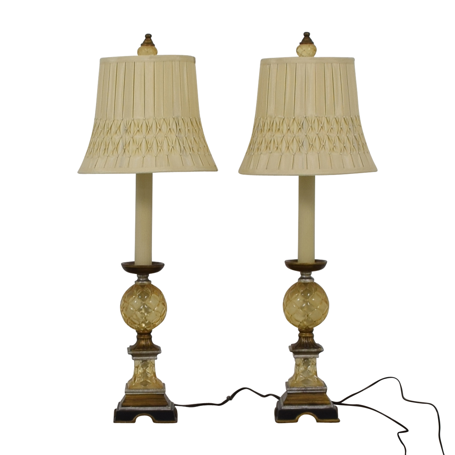 Glass Ball Table Lamps nj
