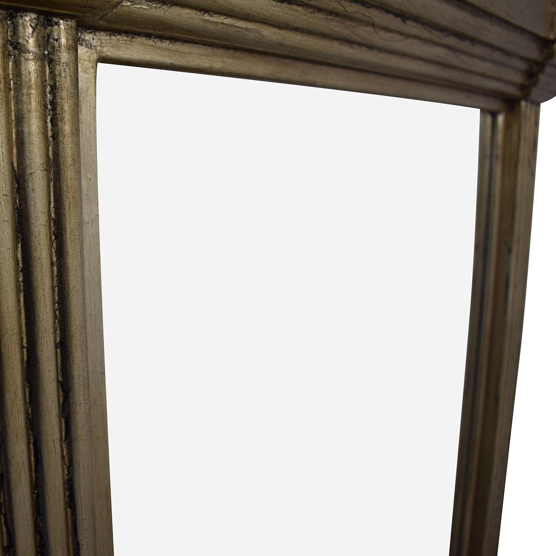 Carolyn Kinder Carolyn Kinder Antiqued Gold Pillar Mirror discount