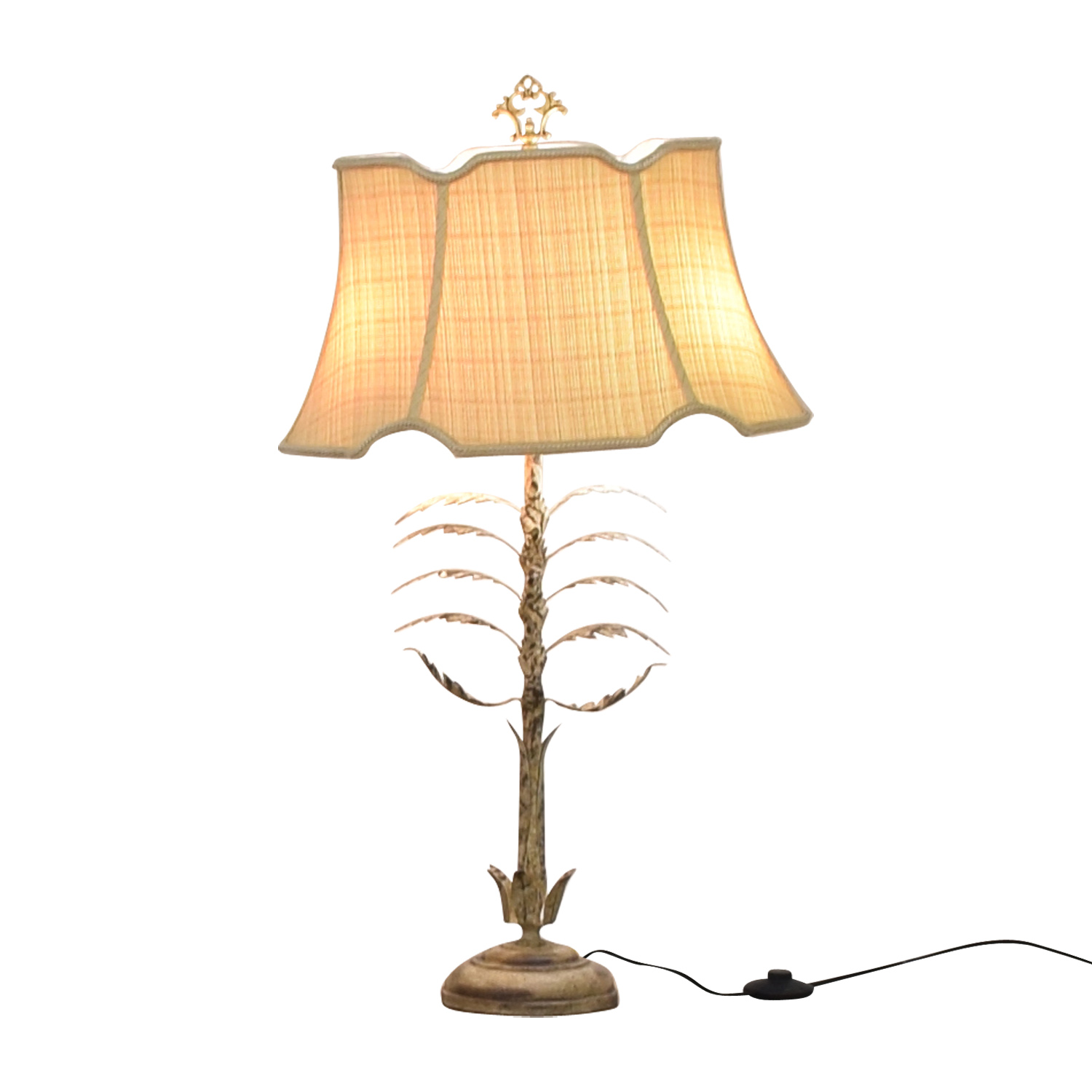 Chelsea House Metal Leaf Table Lamp