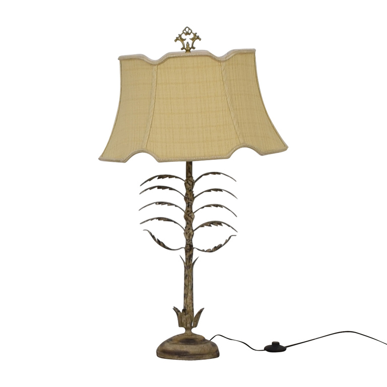Chelsea House Metal Leaf Table Lamp for sale