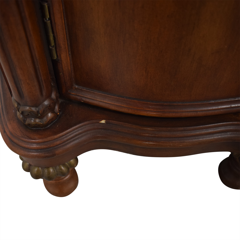 Wood Six-Drawer Storage Cabinet nyc