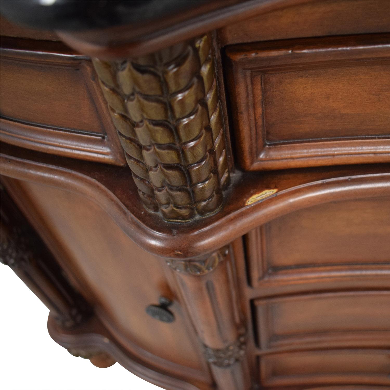 shop Wood Six-Drawer Storage Cabinet