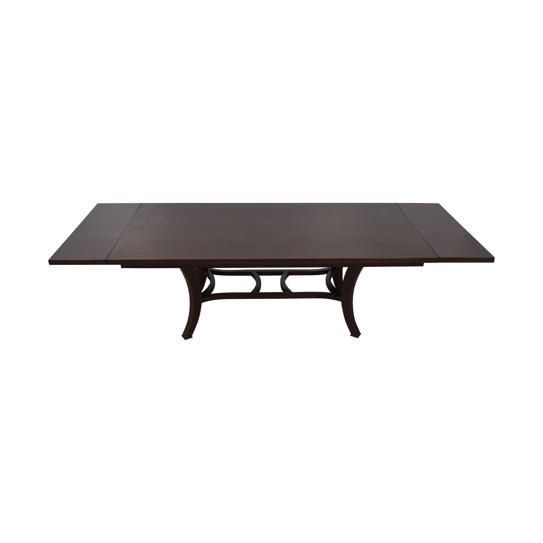 Custom Wood Extendable Dining Table