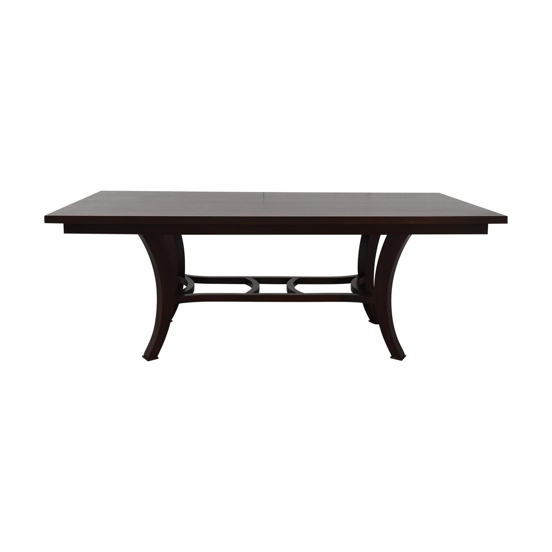 shop Custom Wood Extendable Dining Table  Dinner Tables