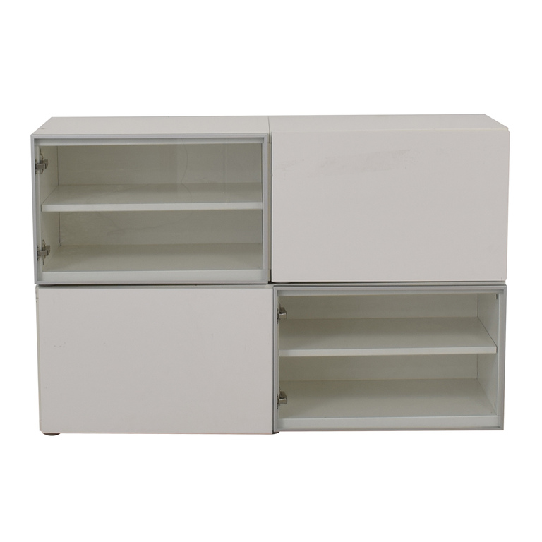 White TV Media Cabinet for sale
