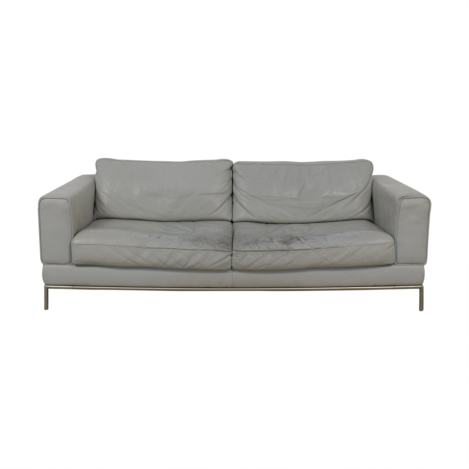 IKEA IKEA Grey Two-Cushion Sofa used