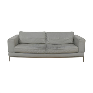 IKEA IKEA Grey Two-Cushion Sofa