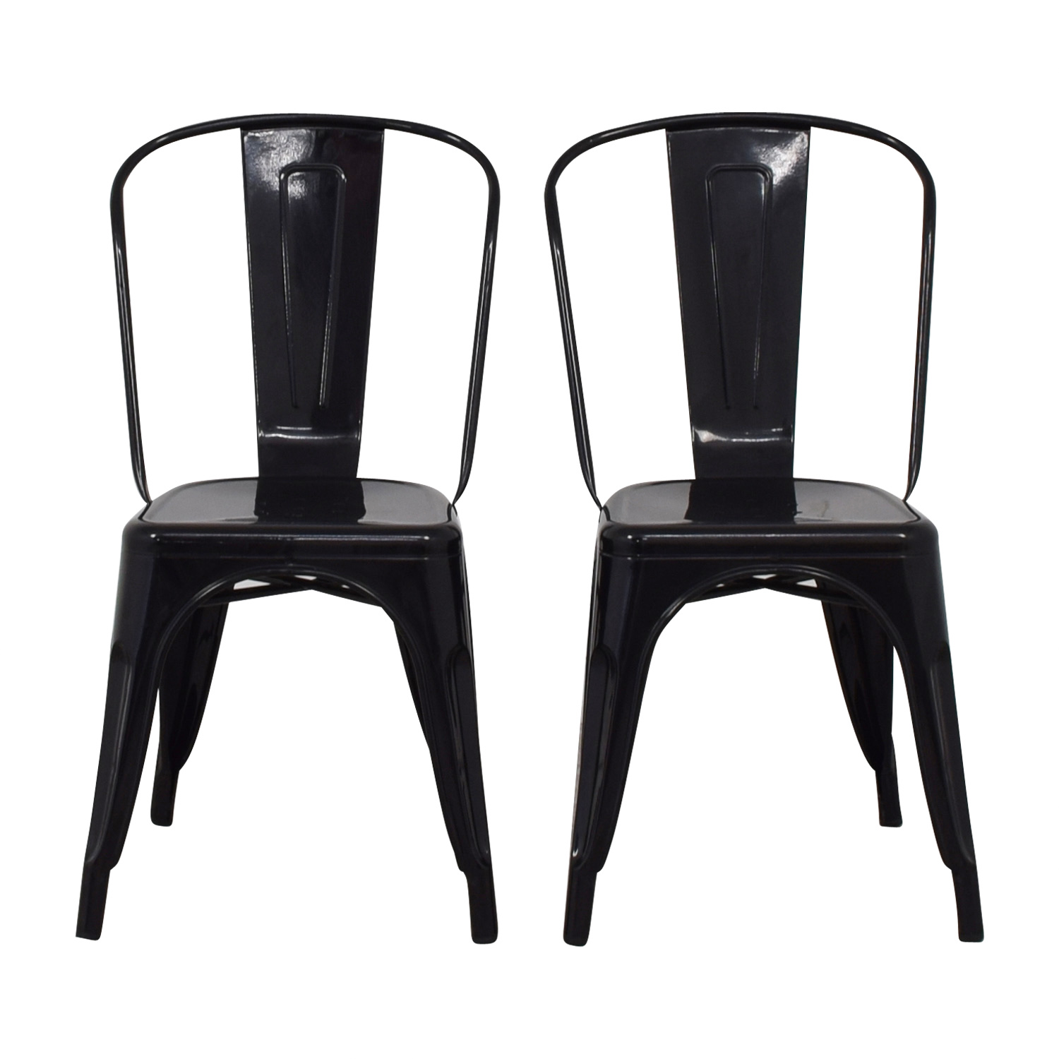 Black Dining Chairs second hand