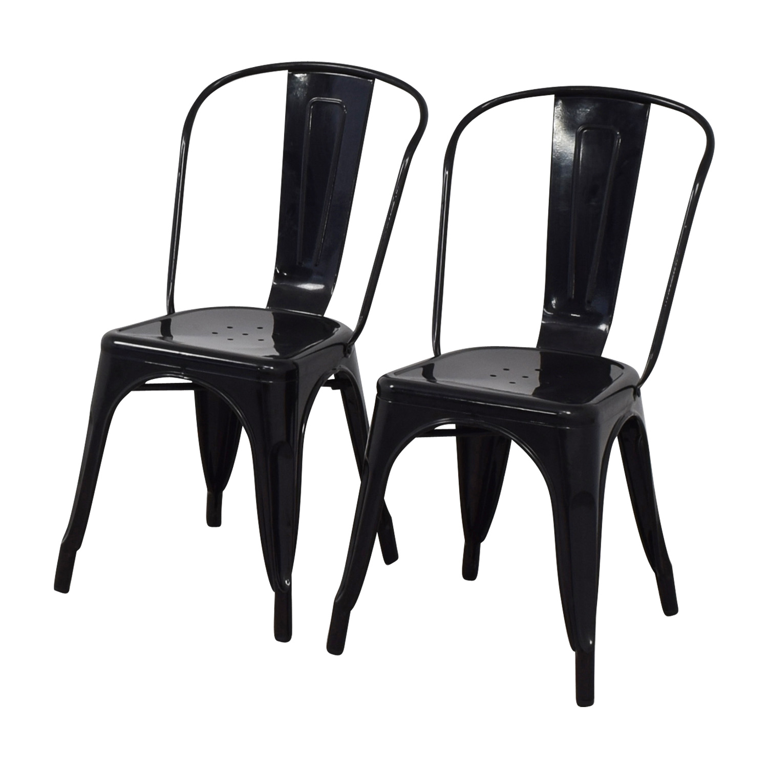 Black Dining Chairs used