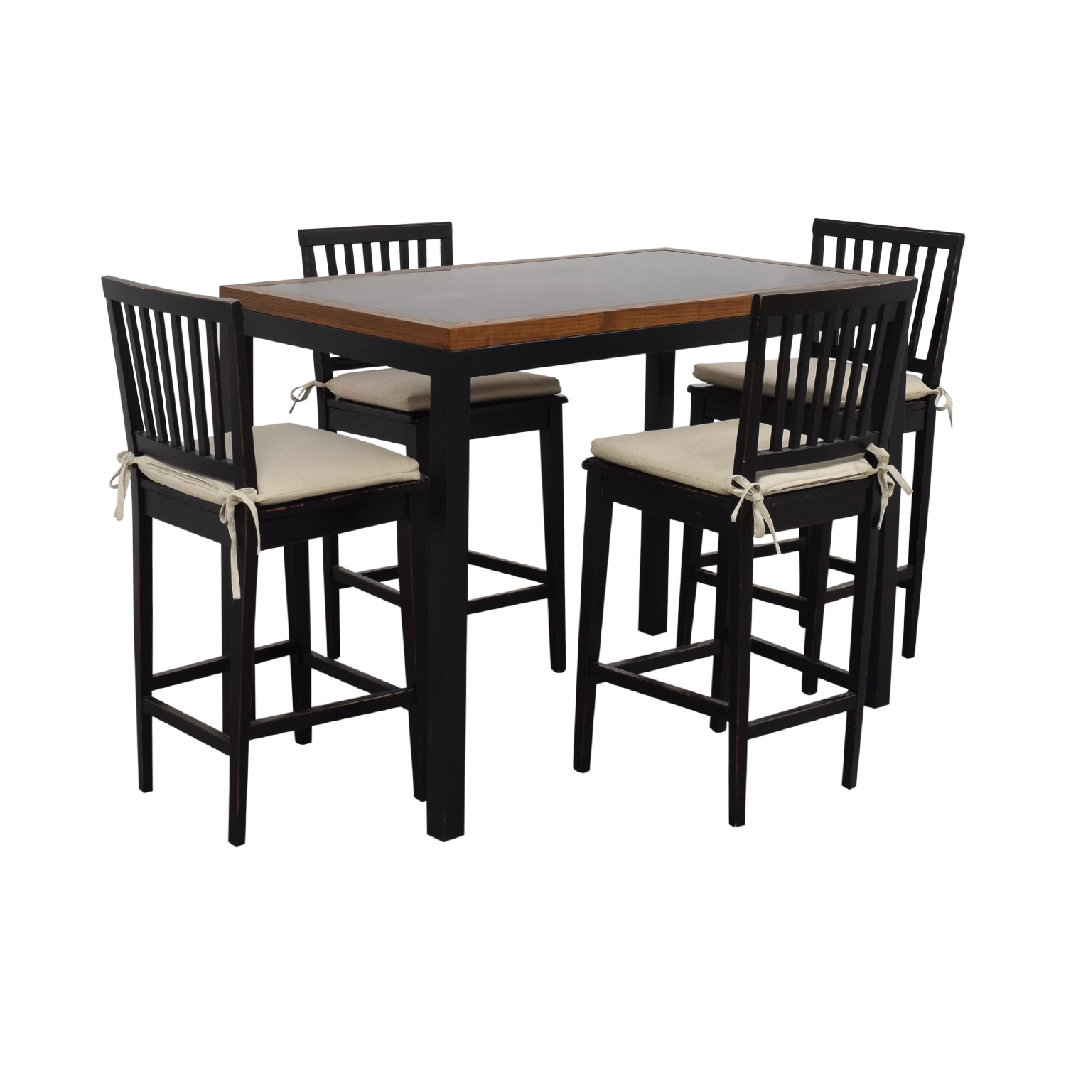 Crate & Barrel Parsons Counter High Dining Table Crate & Barrel