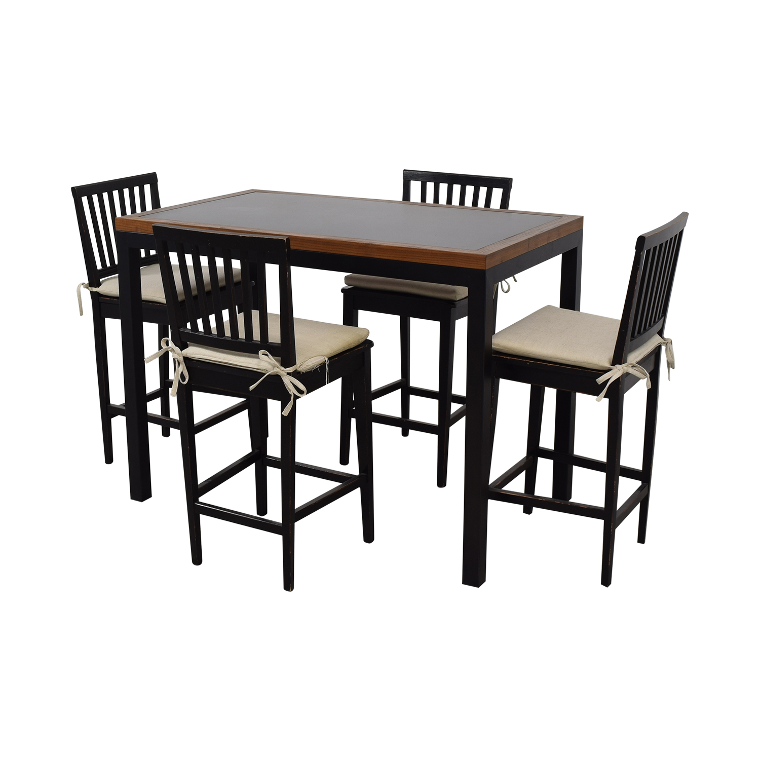 shop Crate & Barrel Parsons Counter High Dining Table Crate & Barrel